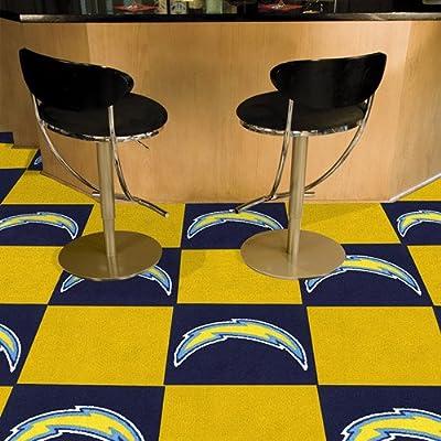 Fanmats San Diego Chargers Team Carpet Tiles