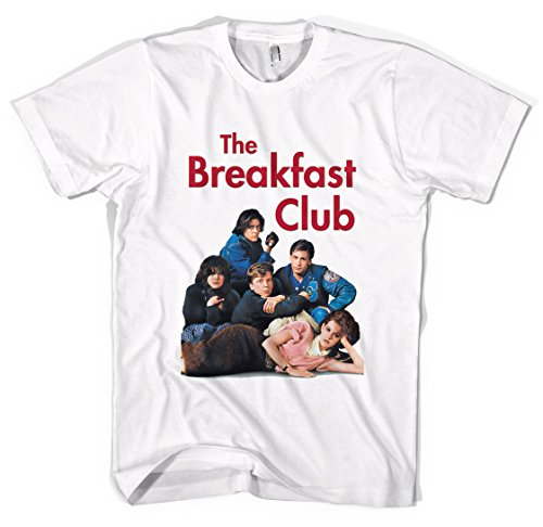 The Breakfast Club Unisex T-Shirt All Sizes Colours (S, White)