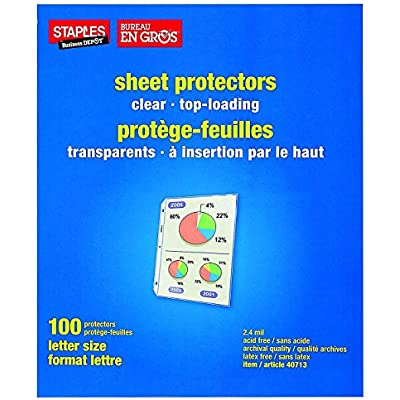 staples-clear-sheet-protectors-letter