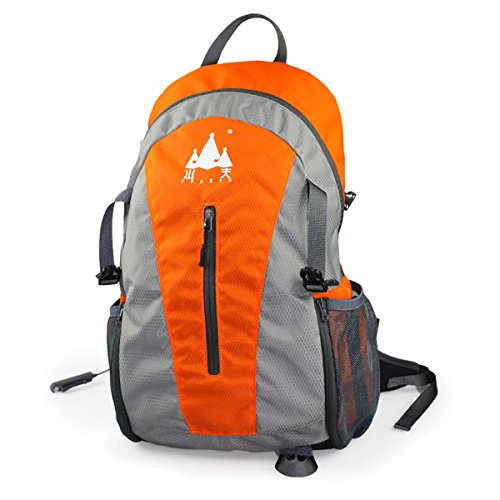 UPC 634458649483, Orange Outdoor Sports Stereo Speaker Backpack With Decompression Boomspeaker