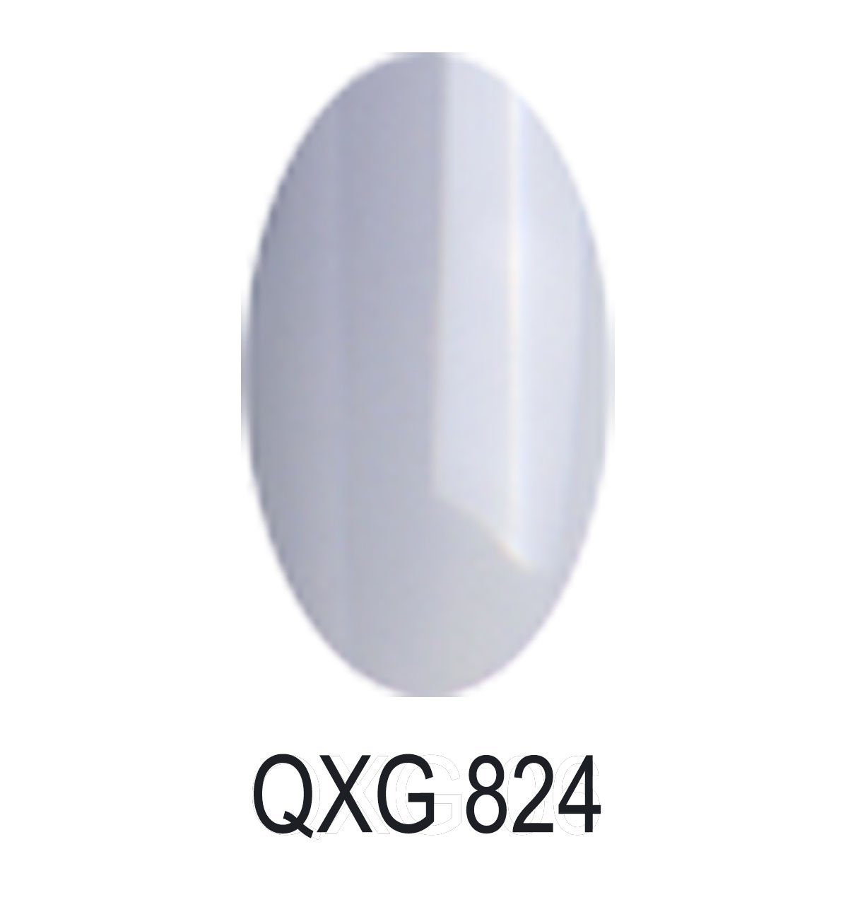 Bluesky Limited Edition UV/LED Soak Off Gel Nail Polish Number QXG 824, Light Grey 10 ml Bluesky QXG824
