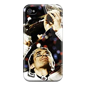 Buydiycase Perfect Tpu Case For Iphone 4/4s/ Anti-scratch Protector Case (new Orleans Saints)