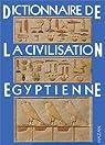 Dictionnaire de la civilisation égyptienne par Posener