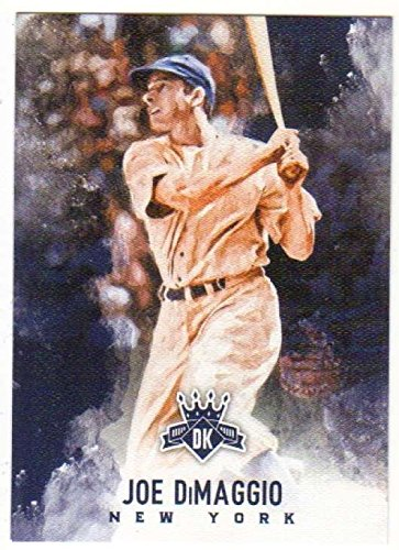 Joe Dimaggio Memorabilia - 2017 Panini Diamond Kings Image Variation SP #18 Joe DiMaggio Yankees