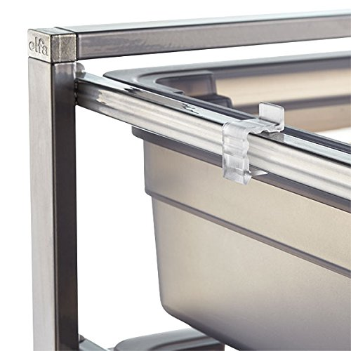 elfa Solid Drawer In & Out Stops Package of 4