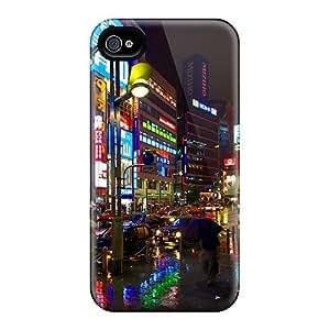 Iphone 4/4s Case Bumper Tpu Skin Cover For Rainy Ginza Accessories