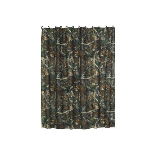 ee Oak Camo Shower Curtain, 72
