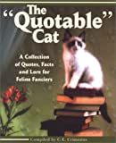 The Quotable Cat, C. E. Crimmins, 1887166734
