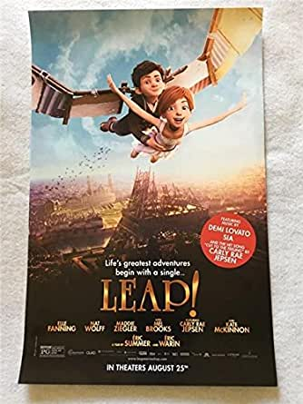 Leap 11 Quot X17 Quot Original Promo Movie Poster 2017 Carly Rae