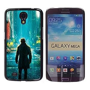 iKiki Tech / Estuche rígido - Comic vigilante solitario - Samsung Galaxy Mega 6.3
