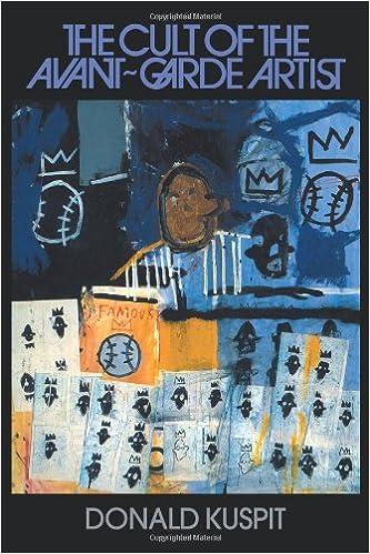 Book The Cult of the Avant-Garde Artist