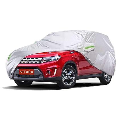 Amazon.es: LBYMYB Cubierta del coche cubierta interior y exterior de tela gruesa Oxford antifouling protección contra la lluvia cubierta para los modelos ...