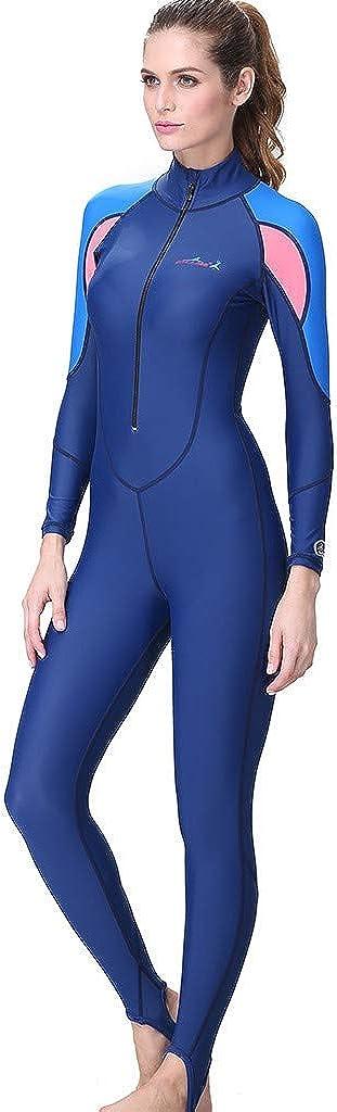 Wetsuit Women Forthery Neoprene Snorkeling Surfing Scuba Diving Full Body Cover Thin Wetsuit Dive Skin Suit Swimwear