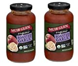 Muir Glen Organic Roasted Garlic Pasta Sauce (Pack of 2)