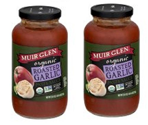 Muir Glen Roasted Sauce - Muir Glen Organic Roasted Garlic Pasta Sauce (Pack of 2)