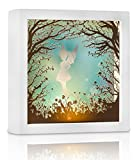 Marmelada Lights, Handicraft 3D Story in a Frame Series | Pixie Fairy, LED Bedside Nursery Night Lamp | Bookshelf, Tabletop, or Wall Hanging | Battery operated 2 months runtime.
