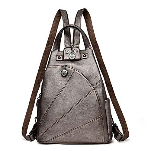 Fashion Leisure Women Backpacks Women's PU Leather Backpacks (Gift Sog Set)