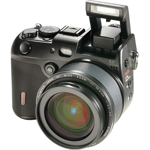 Olympus C-8080 8MP Digital Camera with 5x Optical Wide Zoom