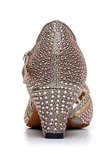 Ballerine Joymod Donna MGM 5cm Gold H5nxdwcaq