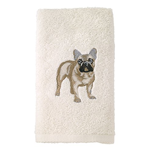 Avanti Linens 021552 Fbd French Bulldog 2 Pack, Hand Towel,