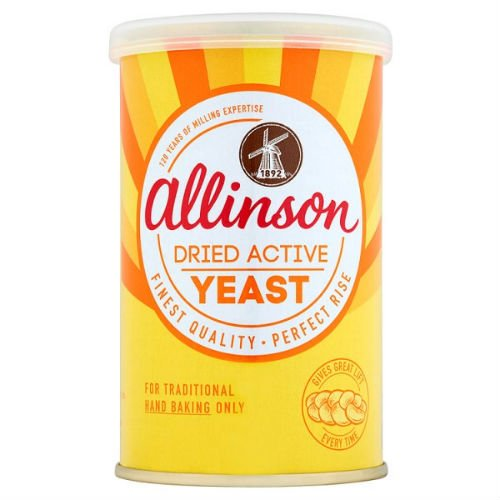 Allinson Dried Active Yeast Case Of 10 125G