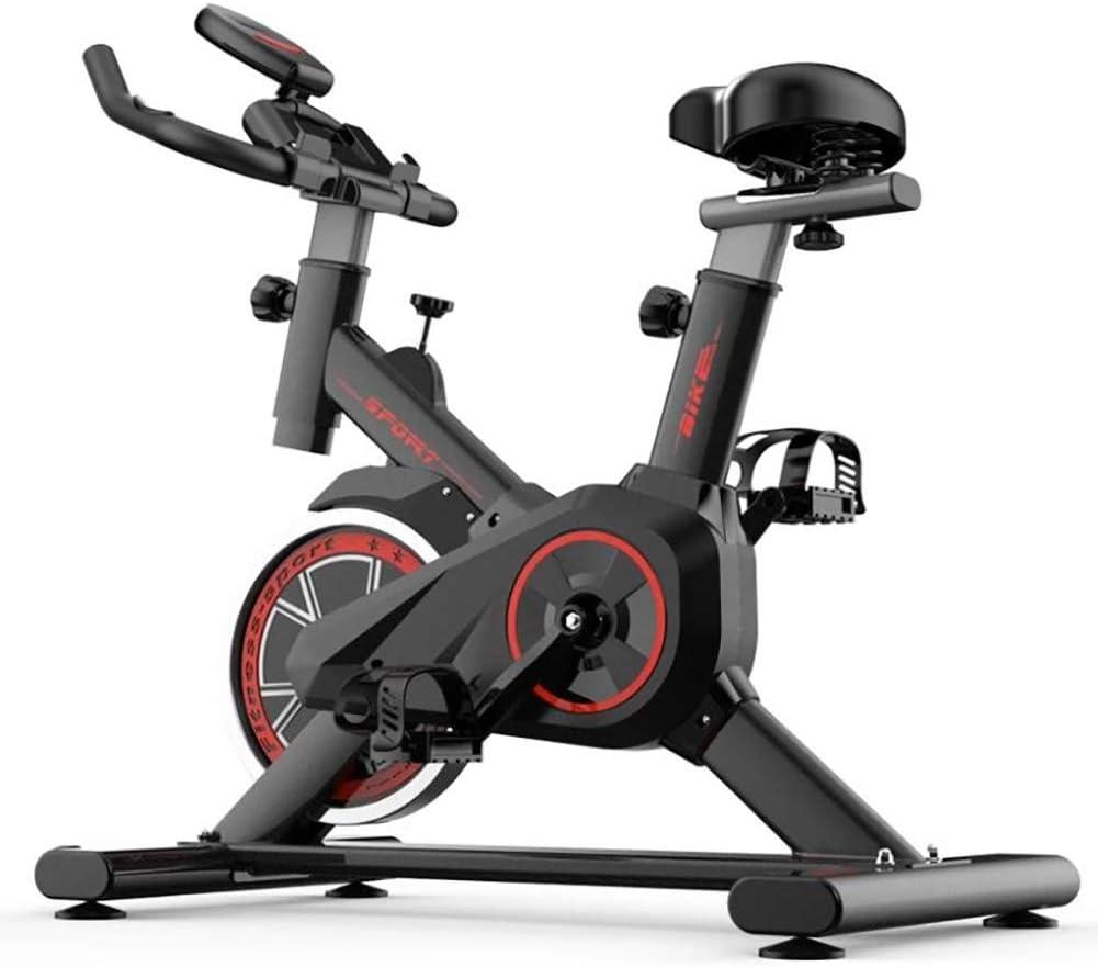 YHLL Ejercicio Vertical de Bicicletas, ciclos Salas de Estudio, Entrenamiento aeróbico Cardio Fitness Bicicletas, Rueda de inercia Grande, Cinta de Pulso compatibles - preparador físico Bicicletas