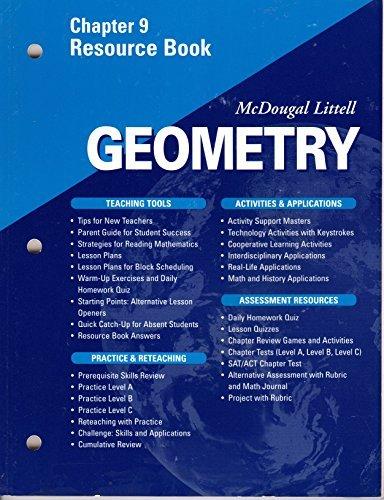 McDougal Littell - Geometry - Chapter 9 Resource Book