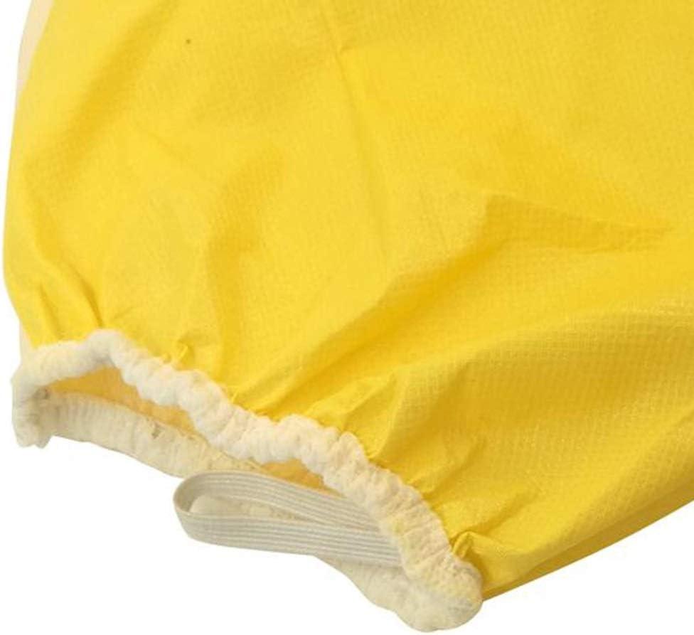 AF ES Ropa de protecci/ón qu/ímica con Capucha Impermeable A Prueba de Polvo Anticorrosivo Qu/ímico Mono Transpirable de una Pieza 4//5//6 Size : M protecci/ón tipo3