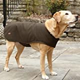 Waxed-cotton Dog Jacket / Medium 20″, Dogs 26-40 Lbs., , Medium, My Pet Supplies