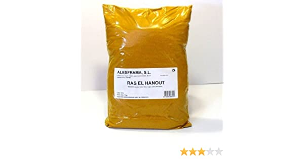 RAS EL HANOUT Nº 1 - bolsa 250 gr