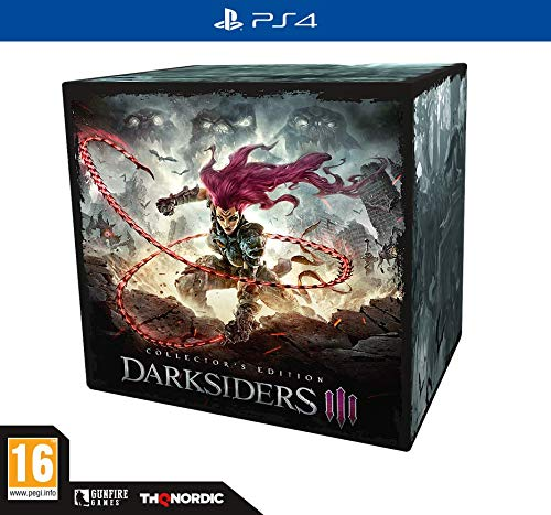 Darksiders III - PlayStation 4 Collector's (Game Console Playstation 3 Console)