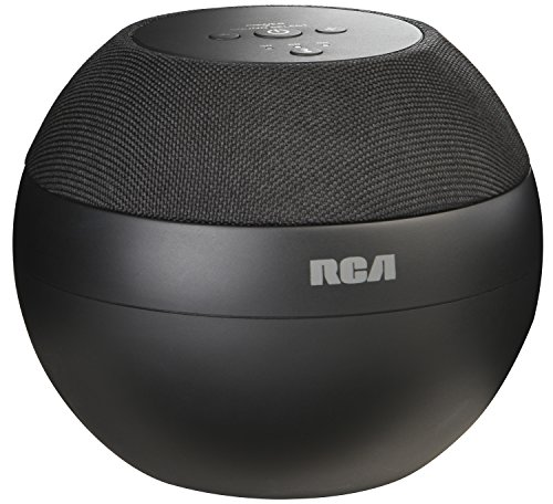 RCA White Noise Machine - Sound Soother with 10 Pre-Loaded Sounds for Noise Cancellation, Sleep Therapy, White Noise Generator, Tinnitus Relief and -