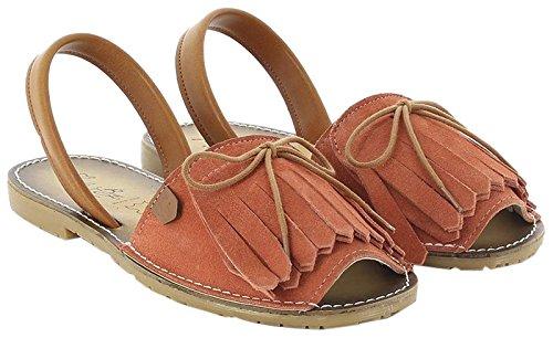 KOALA BAY WoMen Fortaleza Open Toe Sandals Orange (Coral 237)