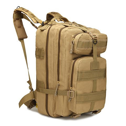 AGECC Canvas Rucksack Outdoor Wasserdicht Army Camouflage Computer Bag C jYjrXN4qhu