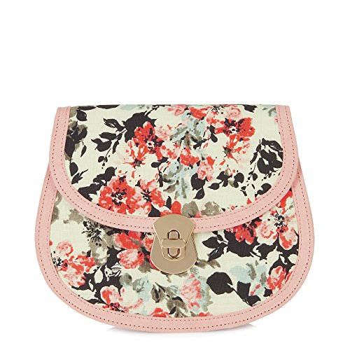 Monaco Ladys 50s Fashion (Ruby Shoo Women's Pink Monaco Clutch Bag)