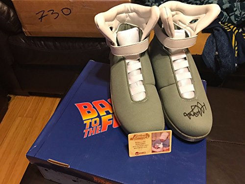 Michael J Fox Autograph Signed Back To The Future Air Mags Shoe Celebrity Authentics