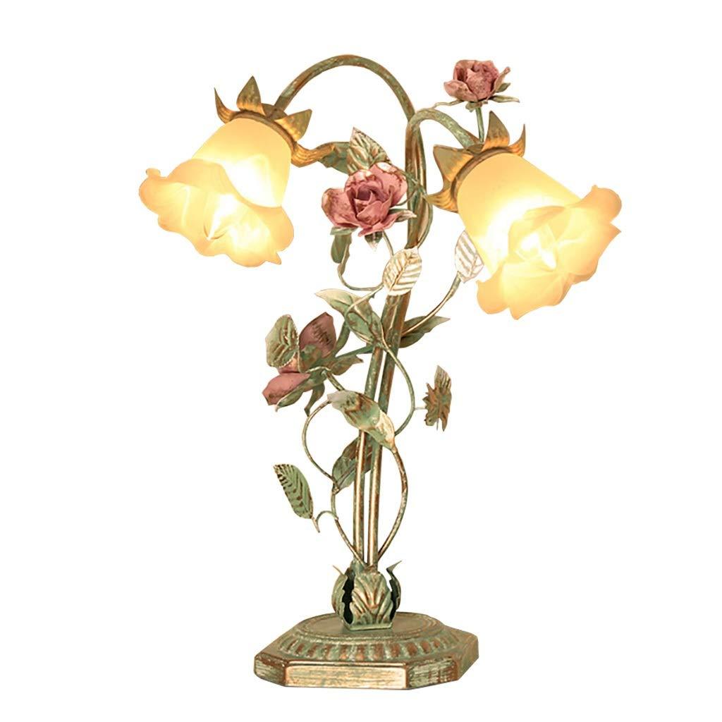 Table Lamp European LOFT Garden Flower Decoration Lamp