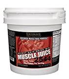 Ultimate Nutrition Muscle Juice 2544 Weight Gain Drink Mix, Chocolate, 167.5-Ounce Tub