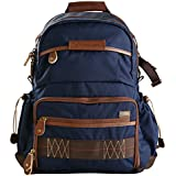 Vanguard Havana 41 Backpack (Blue) for Sony Mirrorless, Compact System Camera (CSC), DSLR, Travel