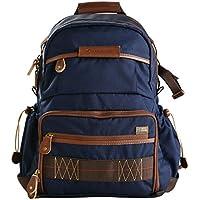Vanguard Havana 41 Backpack (Blue) for Sony, Nikon, Canon, Fujifilm Mirrorless, Compact System Camera (CSC), DSLR, Travel