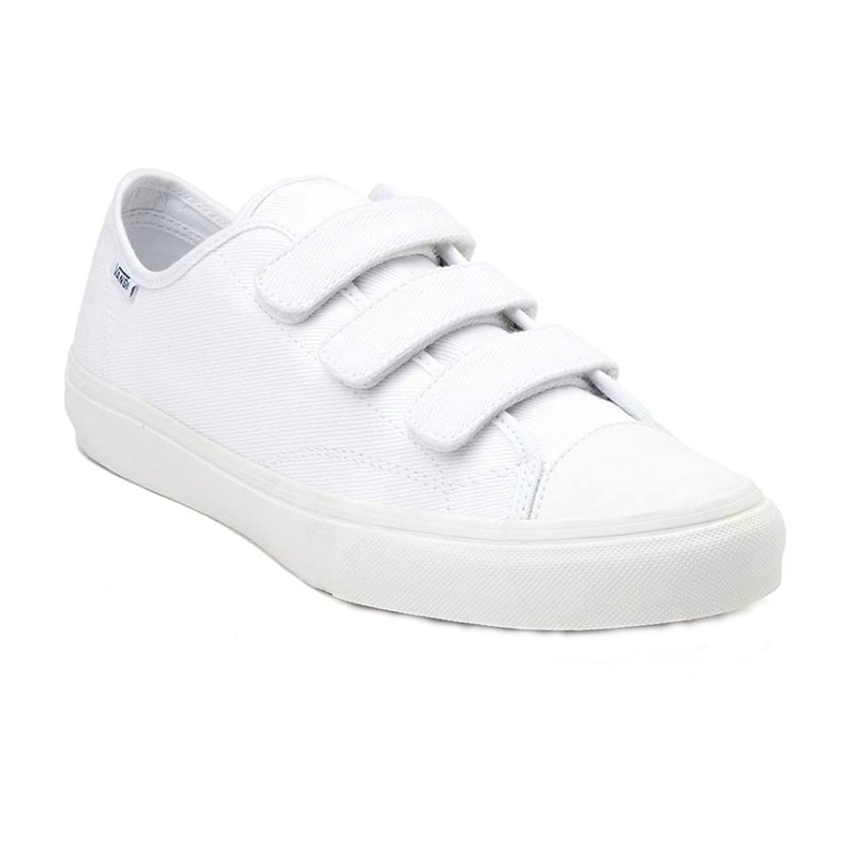 1b09b86ce3 Vans womens shoes prison issue true white off white twill fashion sneaker  men women shoes jpg