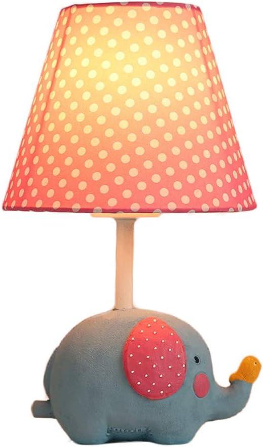 Yinuo Lampes de table Creative Elephant lampe Chambre Belle