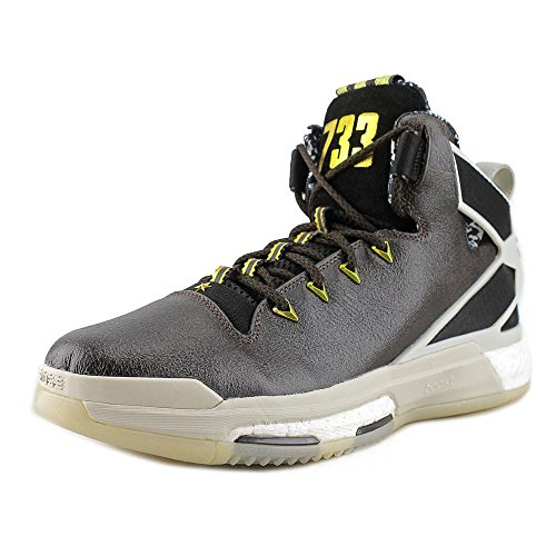 adidas Performance Men's D Rose 6 Boost BHM Basketball,Black/Grey,11.5 M US