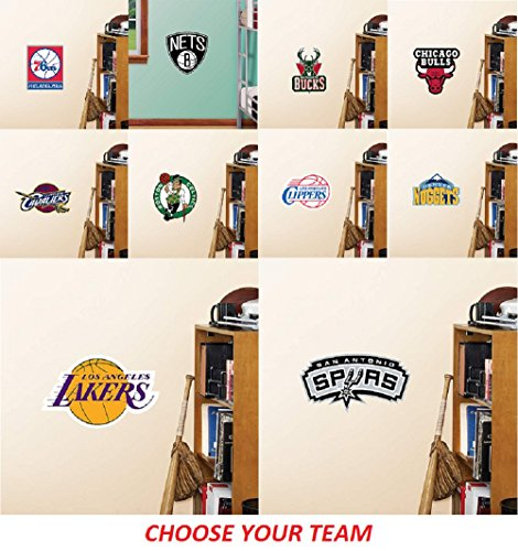 NBA unisex NBA Teammate Logo Fathead Decal