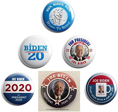 """QTY 1 JOE BIDEN  46TH PRESIDENT OF THE UNITED STATES 2021 3/"""" PIN BACK BUTTON"""