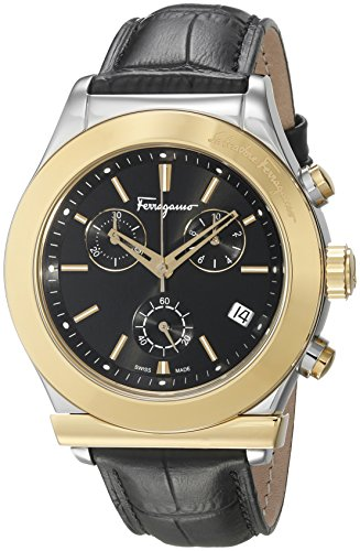 Salvatore-Ferragamo-Mens-FF3880015-Ferragamo-1898-Two-Tone-Stainless-Steel-Watch