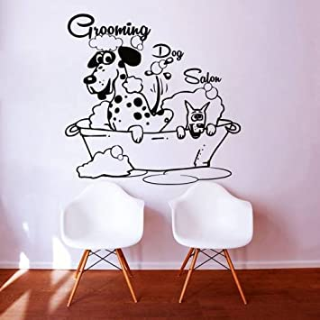 Exceptionnel Wall Decals Dog Grooming Salon Decal Vinyl Sticker Pet Shop Scissors Home  Decor Interior Design Art
