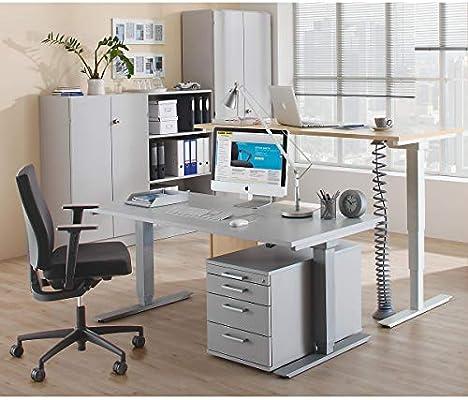 upliner escritorio sobre patas, Eléctrico - sin Traverse, L x P ...