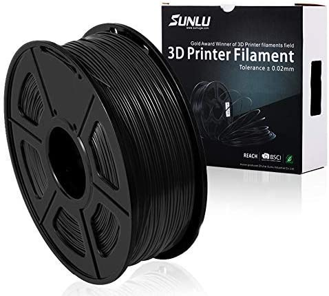 Amazon.com: Filamentos ABS para impresora 3D Sunlu amarillo ...