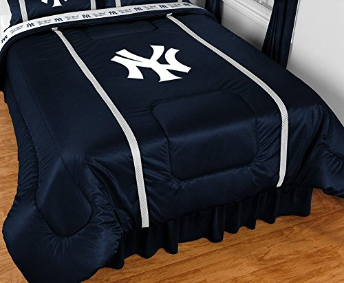 Collection Sidelines Twin Comforter - New York Yankees NY Sideline Bedding Comforter Cover (Twin)